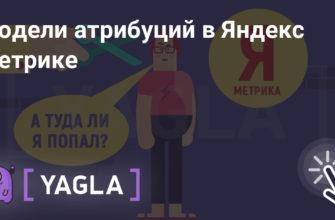Модели атрибуций в Яндекс.Метрике | YAGLA Блог | YAGLA